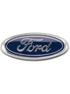 Muzzys Ford Fusion Flat Double Emblem Replacement