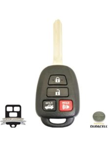 Toyota Car Key Remote Battery How To Change Remote Key Battery