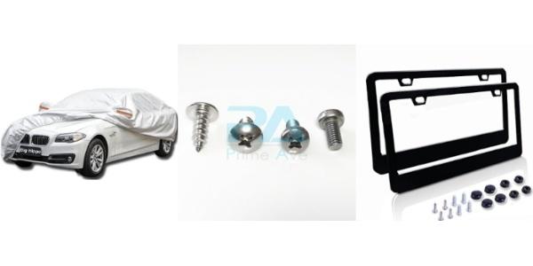 Rear License Plate Base Holder Bracket Mount Frame For BMW 6 Screws /& Wrench Kit