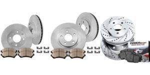 Rotors Metallic Pads F 2002 Toyota Corolla OE Replacement